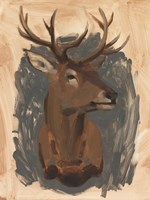 Red Deer Stag I Fine-Art Print