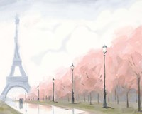 Paris au Printemps II Fine-Art Print