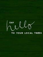 Hug a Tree I Fine-Art Print