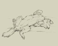Dog Tired III Fine-Art Print