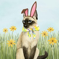 Easter Cats II Fine-Art Print