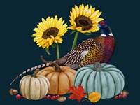 Pheasant Harvest I Fine-Art Print