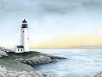 Lighthouse Bay I Fine-Art Print