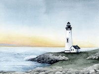 Lighthouse Bay II Fine-Art Print