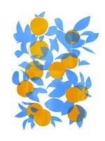 Bright Tangerines I Fine-Art Print