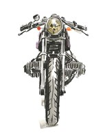 Motorcycles in Ink II Fine-Art Print