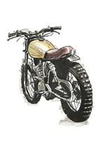 Motorcycles in Ink III Fine-Art Print