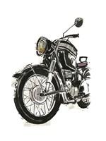 Motorcycles in Ink IV Fine-Art Print