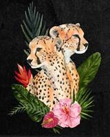 Cheetah Bouquet II Fine-Art Print