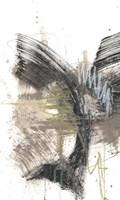 Black, Gold & Taupe I Fine-Art Print