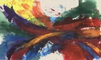 Twisting Rainbow I Fine-Art Print