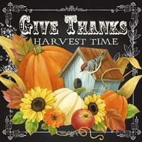 Harvest Greetings II Fine-Art Print