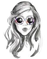 Look into the Sun(Glasses) II Fine-Art Print