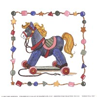 Horse Pull Toy Fine-Art Print