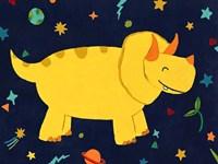 Starry Dinos V Fine-Art Print