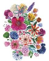 Free Floral I Fine-Art Print