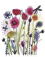 Free Floral II Fine-Art Print