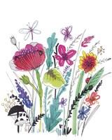 Free Floral III Fine-Art Print