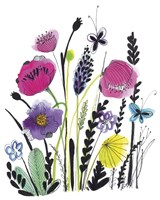 Free Floral IV Fine-Art Print