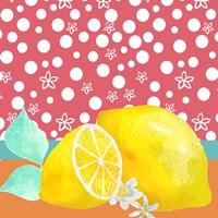 Lemon Inspiration I Fine-Art Print