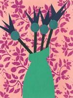Graphic Vase I Fine-Art Print