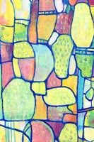 Stained Glass Composition II Fine-Art Print