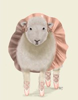 Ballet Sheep 1 Fine-Art Print