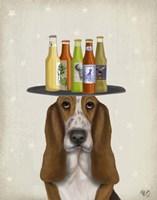 Basset Hound Beer Lover Fine-Art Print