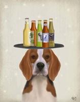Beagle Beer Lover Fine-Art Print