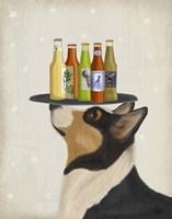 Corgi Tricolour Beer Lover Fine-Art Print