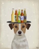 Jack Russell Beer Lover Fine-Art Print