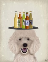 Poodle Beer Lover Fine-Art Print