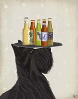 Scottish Terrier Beer Lover Fine-Art Print