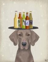 Weimerarner Beer Lover Fine-Art Print