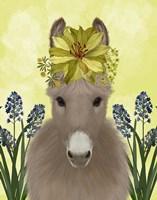 Donkey Sunflower Fine-Art Print