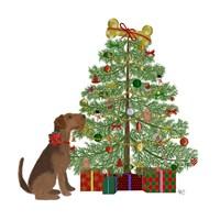 Christmas Des - Bone Tree Fine-Art Print