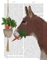 Donkey Lunch Book Print Fine-Art Print