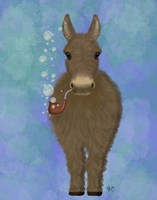Donkey Bubble Pipe, Full Fine-Art Print