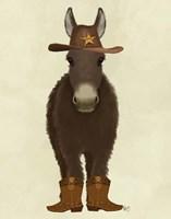 Donkey Cowboy Fine-Art Print