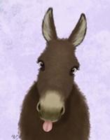 Funny Farm Donkey 1 Fine-Art Print