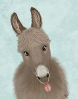 Funny Farm Donkey 2 Fine-Art Print