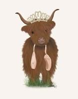 Highland Cow Ballet Fine-Art Print