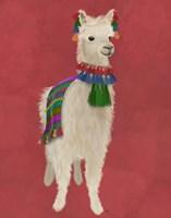 Llama Traditional 1, Full Fine-Art Print