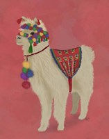 Llama Traditional 2, Full Fine-Art Print