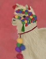 Llama Traditional 2, Portrait Fine-Art Print