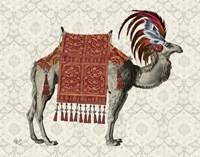 Niraj Camel, Red Fine-Art Print