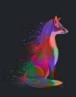 Neon Fox Fine-Art Print