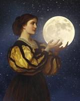 The Moon In Her Hands Fine-Art Print