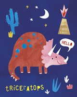 Terrific Triceratops Fine-Art Print