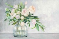 Blushing Spring Bouquet Fine-Art Print